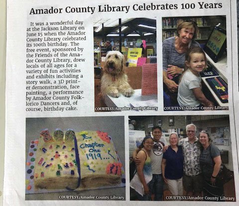 Amador County Library Celebration
