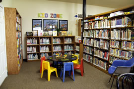 Ione Library shelving #3